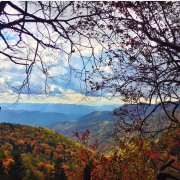 Orange and Red on the Blue Ridge | Photo © Elizabeth Skene