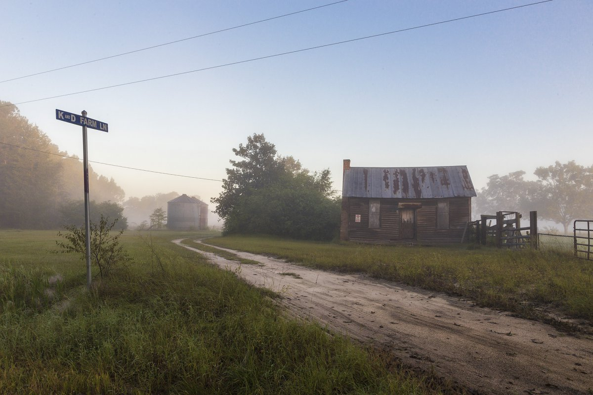Foggy Farm Morning | Photo © Shawna Huffman