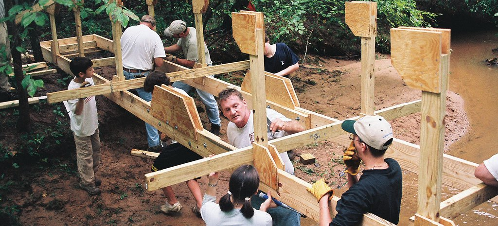Rome Wasn't Built in a Day, but this Bridge Was   Photo © Jim Suiter