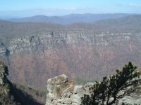 Linville Gorge on a Good Day   Photo © William Dolling