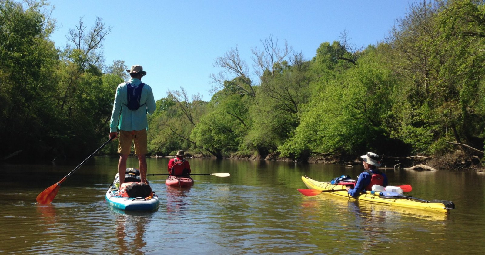 Paddling the Neuse © MiriamAsh-Jones