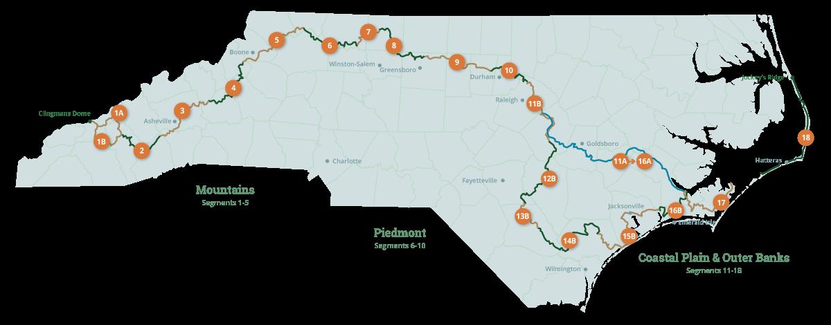 MST Trail Map