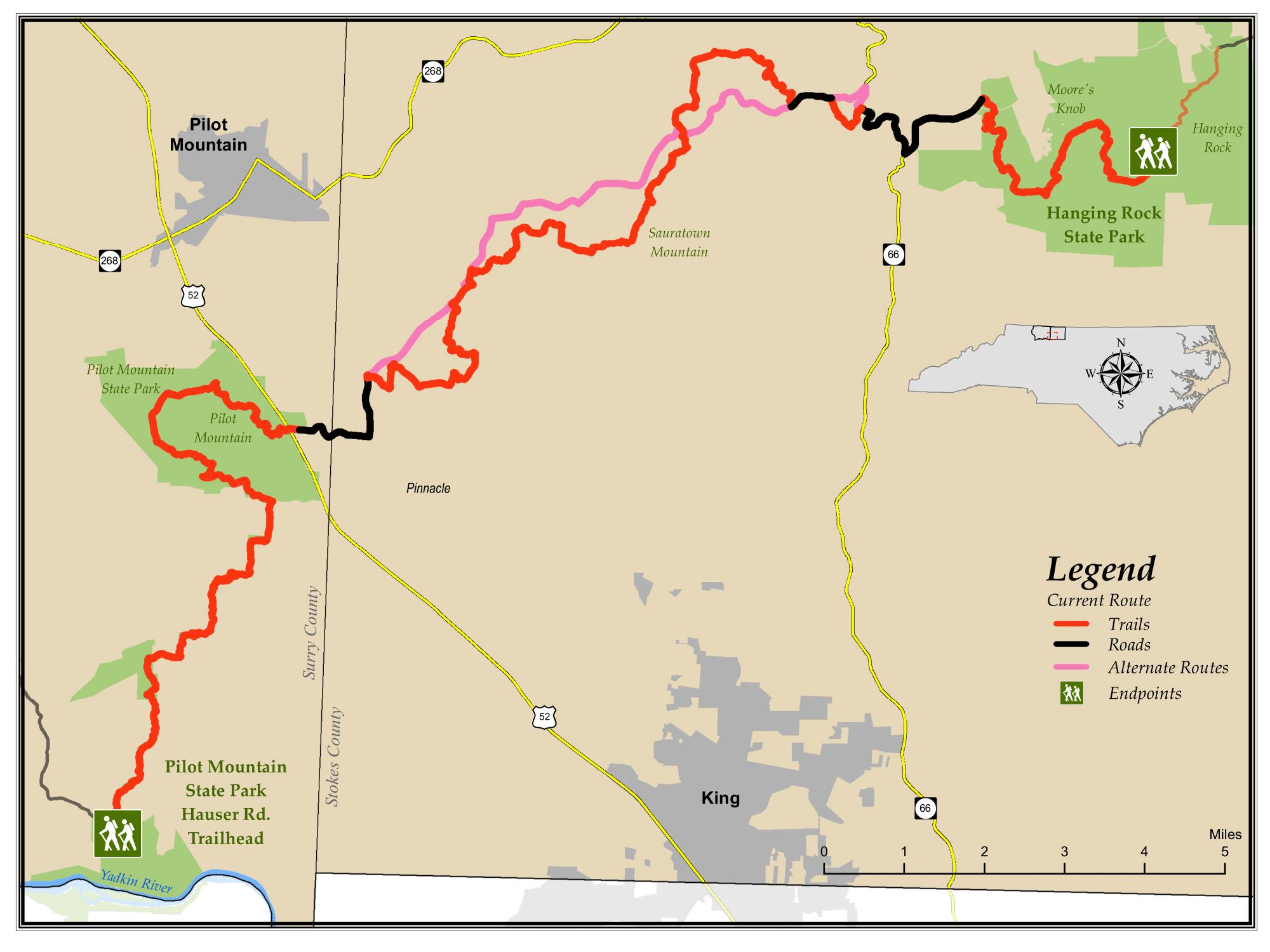 Segment 7 Mountains To Sea Trail