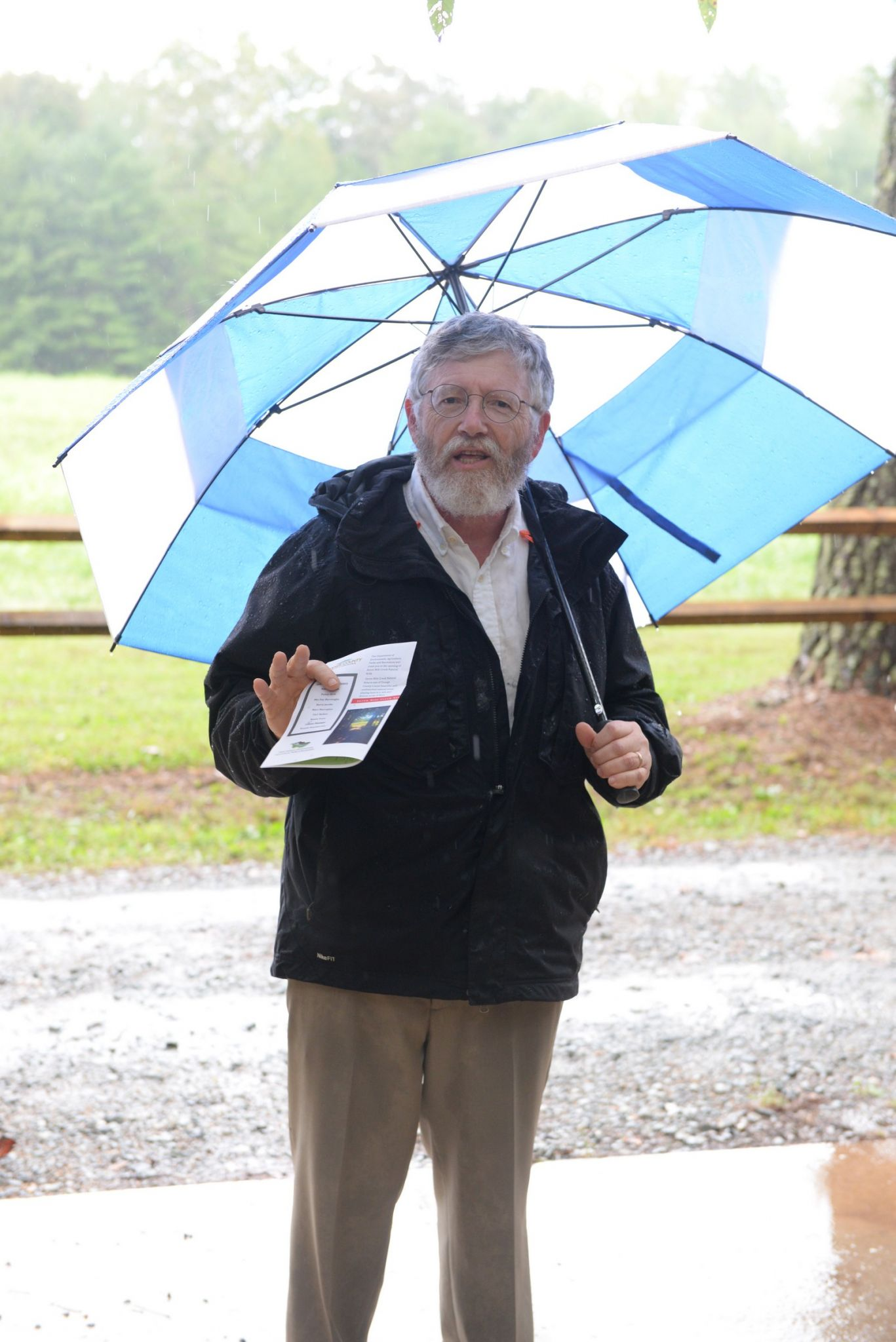County Commissioner Barry Jacobs shares his comments