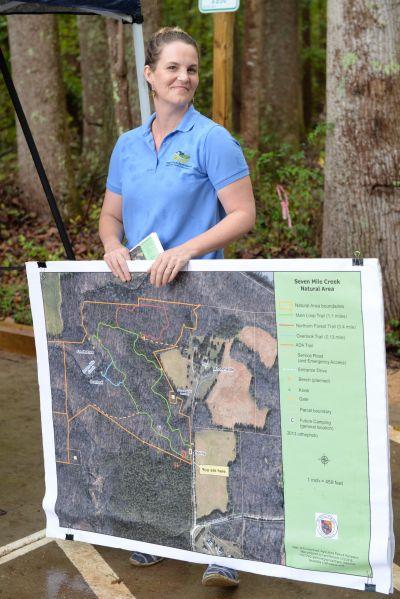 Kim Livingston, Land Conservation Manager for Orange County