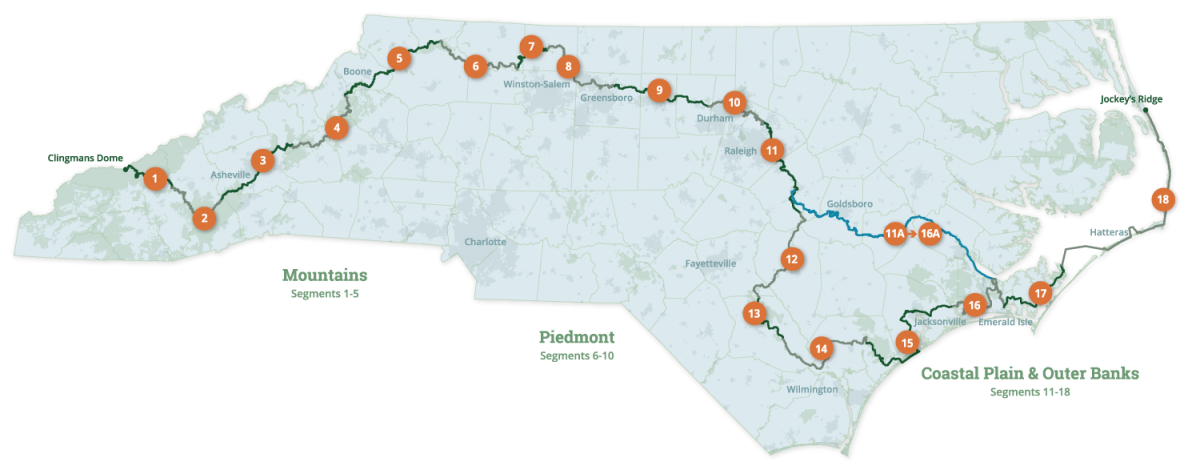 January 2019 Segment Map