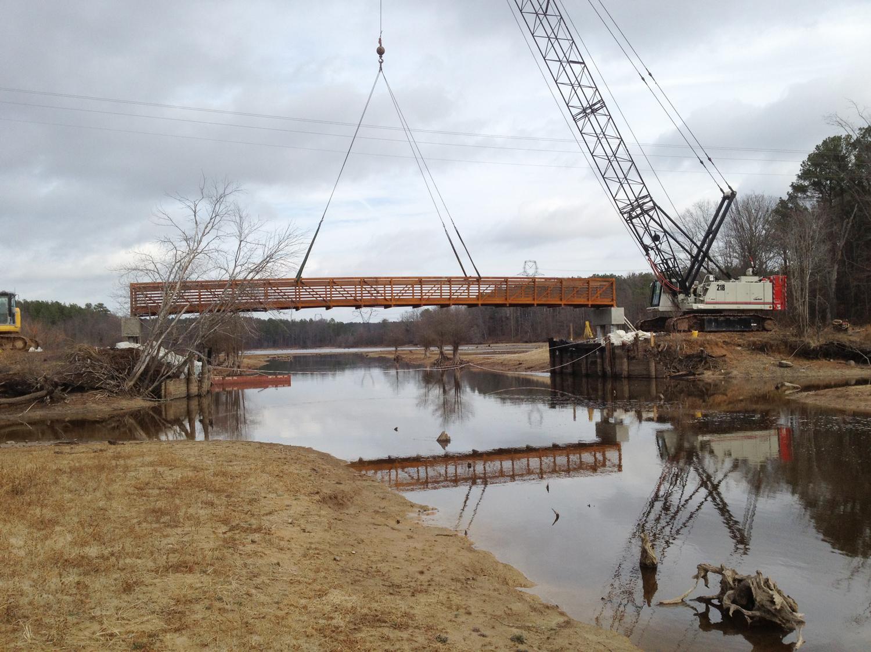 installing the bridge - Gregory Scott